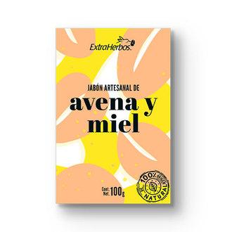 Extraherbos - Jabón Artesanal de Avena y Miel