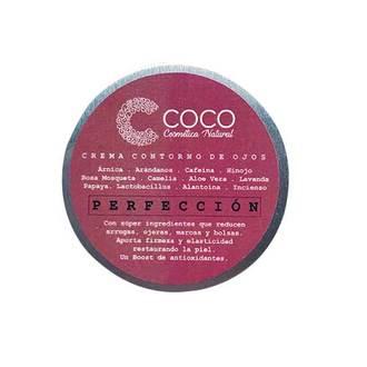 """Coco Cosmética Natural - Crema Contorno de Ojos """"Perfección"""""""