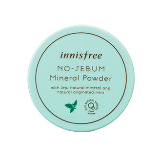 Innisfree - No Sebum Mineral Powder Mint 5gr