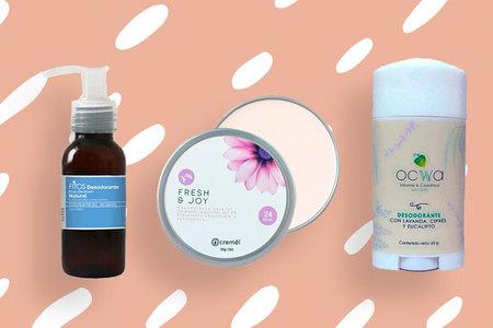 4 desodorantes de marcas mexicanas de belleza para protegerte del mal olor.