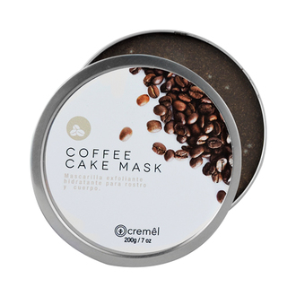 Cremêl - Coffee Cake Mask & Scrub - Mascarilla y Exfoliante de Café