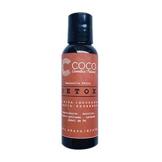 "Coco Cosmética Natural - Mascarilla Facial ""Detox"""