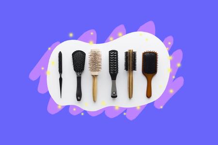 ¿Sabes cuál es el mejor cepillo que le queda a tu tipo de cabello? Además, conoce 12 cepillos y peines y sus funciones