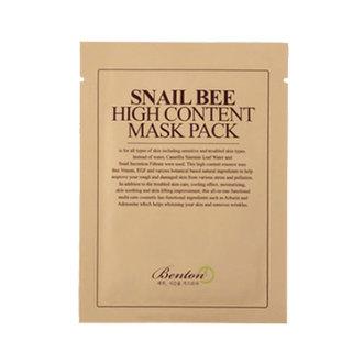 Benton - Snail Bee High Content Mask Sheet