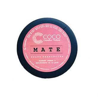 """Coco Cosmética Natural - Polvo Facial Traslúcido """"Mate"""""""
