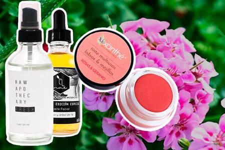 5 beneficios del aceite de geranio como ingrediente en la cosmética natural que ayudan a la piel