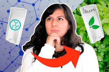 Etapas del cambio entre un antitranspirante a un desodorante natural y tips para lograrlo.