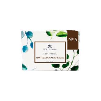 Flor de Espuma - Jabón de Chocolate Hidratación Profunda