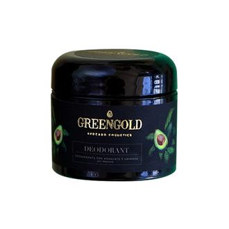 Greengold - Desodorante con Aguacate y Lavanda