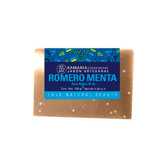 Xamania - Jabón Romero Menta
