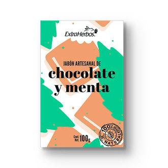 Extraherbos - Jabón Artesanal de Chocolate y Menta