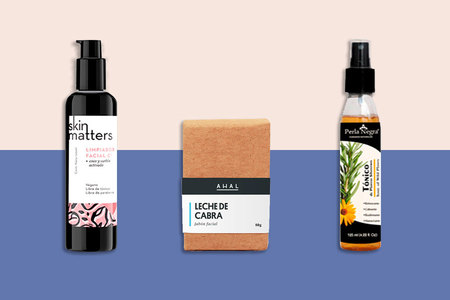 4 Productos Para Tu Rutina De Cuidado Facial Natural (COLECCIÓN)