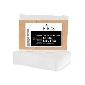 Fitos - Jabón Artesanal Coco Neutro