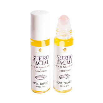La Chula - Suero Facial Rose Quartz Roll-On