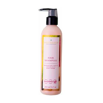 Greengold - Shampoo para cabello con Aguacate, Rosas & Jengibre