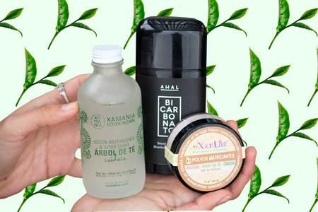 Aceite de árbol de té (tea tree oil): beneficios antisépticos, antibacteriales y antiacné