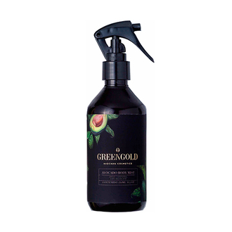 Greengold - Avocado Body Mist Spray Corporal