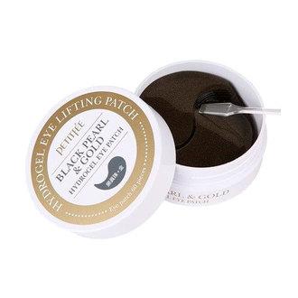 Petitfee - Black Pearl & Gold Hydrogel Eye Patch