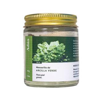 Adán - Arcilla Verde – Mascarilla desintoxicante en polvo