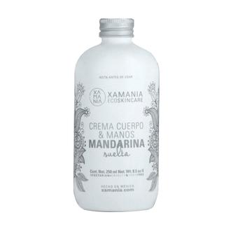 Xamania - Crema de Cuerpo y Manos Mandarina