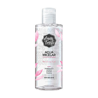 Amara Beauty - Agua Micelar con Agua de Rosas