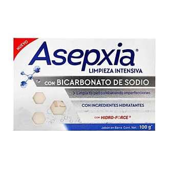 Asepxia - Jabón Bicarbonato