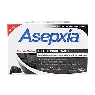 Asepxia - Jabón Carbón Detox