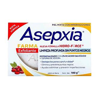 Asepxia - Jabón Exfoliante Farma