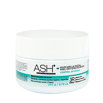 Ash - Mascarilla Facial Peel Off Efecto Detox
