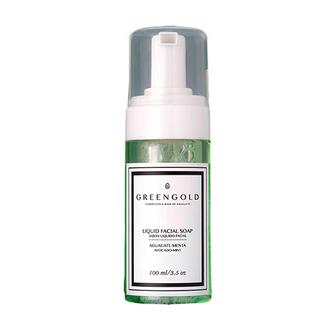 Greengold - Jabón Líquido Facial con Aguacate & Menta