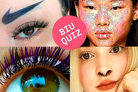 Contesta este biuquiz para conocer cual de estas raras opciones de belleza prefieres.