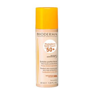 Bioderma - Photoderm Nude Touch FPS 50+ Tono Dorado