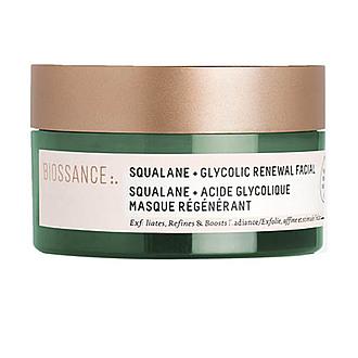 Biossance - Squalane + Glycolic Renewal Facial