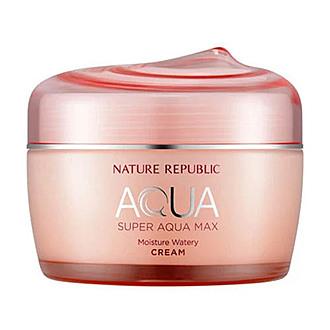 Biutiko - NATURE REPUBLIC - Super Aqua Moisture Watery Cream (Dry Skin)