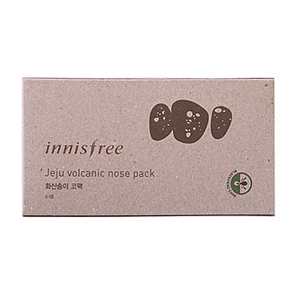 Biutiko - INNISFREE - Jeju Volcanic Nose Pack 6 Sheet