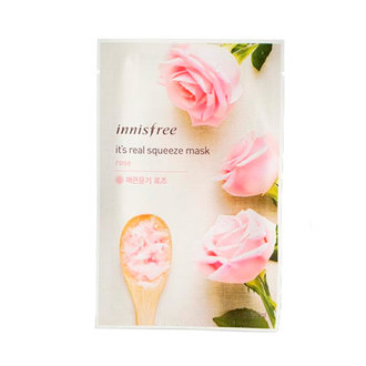 Innisfree - It's Real Squeeze Mask Rosas