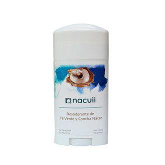 Nacuii - Desodorante de Concha Nácar y Té Verde
