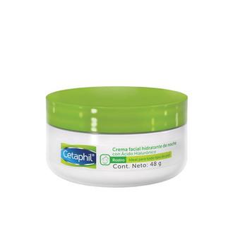 Cethapil - Crema Facial Hidratante de Noche con Ácido Hialurónico
