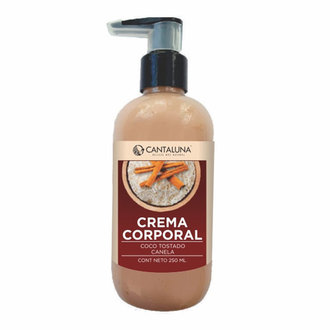 Cantaluna - Crema Corporal Coco Tostado-canela
