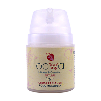 Ocwa - Crema Facial de Rosa Mosqueta