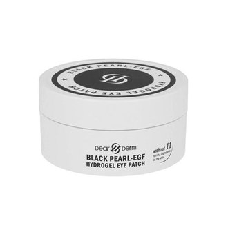 DearDerm - Black Pearl-EGF Hydrogel Eye Patch