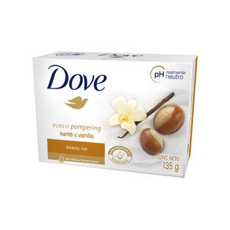 Dove - Barra de Belleza Dove Purely Pampering Karité y Vainilla