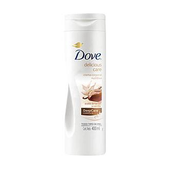 Dove - Delicious Care Crema Corporal Nutrirtiva Aceite de Karité y Vainilla