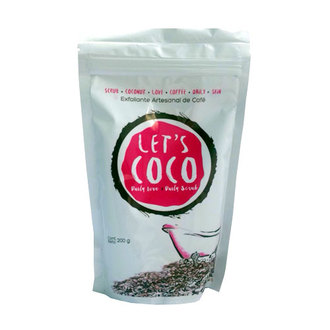 Let's Coco - Exfoliante Artesanal de Café - Body