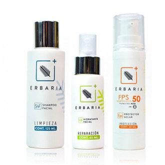 Erbaria - Kit Cuidado Facial Básico (Control Grasa)