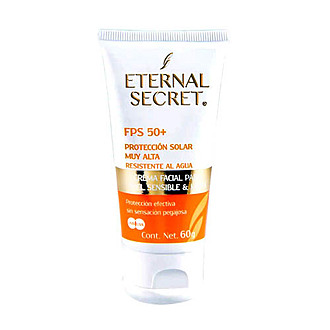 Eternal Secret - Bloqueador Solar FPS 50+ 60g.