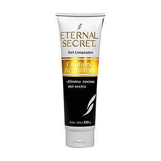 Eternal Secret - Gel Limpiador Facial Con Carbón Activado