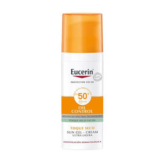Eucerin - Sun Gel - Cream Oil Control Toque Seco Facial FPS 50+