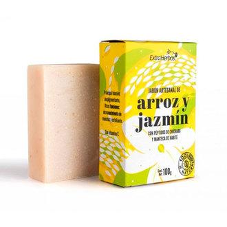 Extraherbos - Jabón Arroz y Jazmín, Despigmentante, Antimanchas