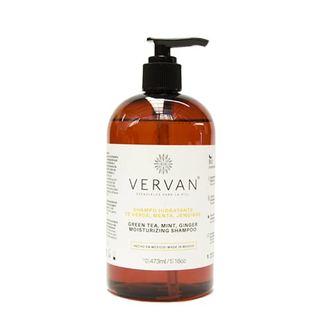 Vervan - Shampoo de Té Verde Menta y Jengibre